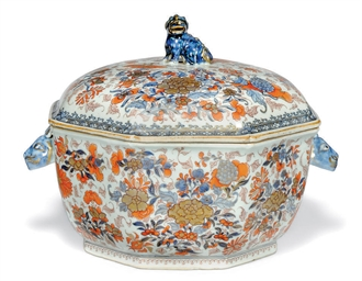 A CHINESE EXPORT IMARI OCTAGON