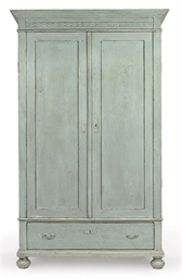 A DANISH PINE ARMOIRE