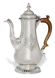 A GEORGE III BALUSTER SILVER C