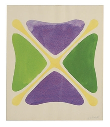 Untitled (Purple, Green, Orang