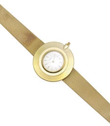 AN 18K GOLD UNLTRA-THIN WRISTW