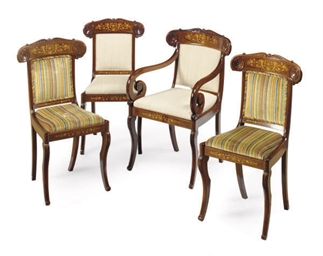 A SET OF TWELVE LOUIS PHILIPPE