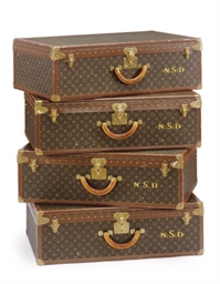 A SET OF FOUR LOUIS VUITTON HA