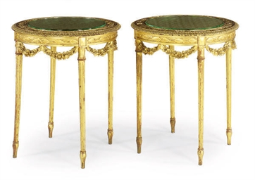 A PAIR OF FRENCH GILTWOOD GUER