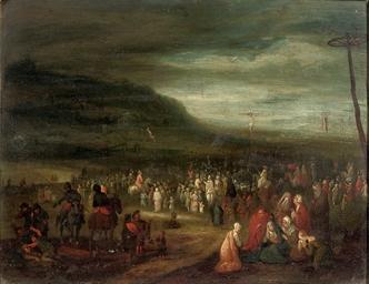 The Crucifixion on Mount Calva