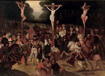 The Crucifixion on Mount Calvary