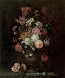 Roses, tulips, carnations, mor