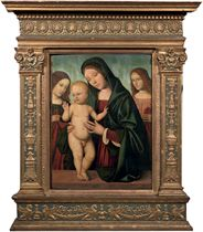 The Madonna and Child with Angels