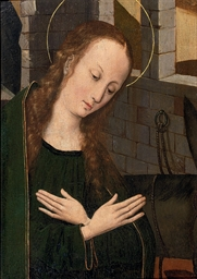 The Virgin at prayer