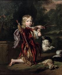 Portrait of a boy, full-length