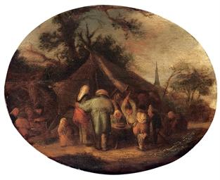 Peasants at a 'kermesse'