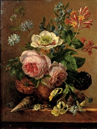 An exuberant flower still life