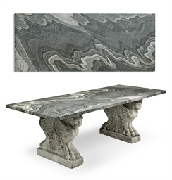 A CIPOLLINO MARBLE AND WHITE P