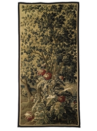 A VERDURE TAPESTRY PANEL