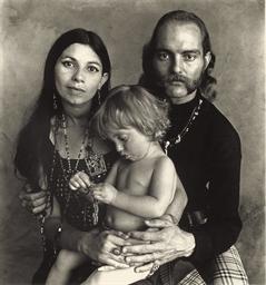 Hippie Family F, 1967