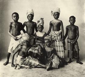 Dahomey Children, 1972