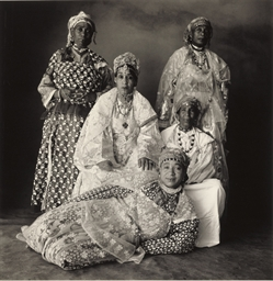 5 Moroccan Women, 1971