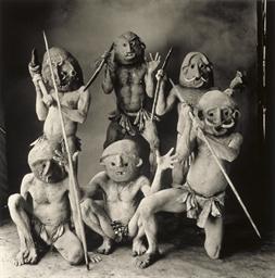 Six New Guinea Mudmen, 1970