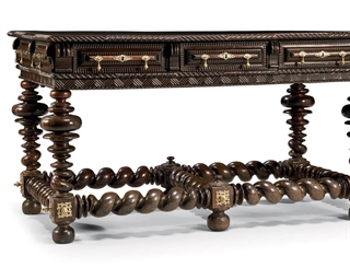TABLE D'EPOQUE BAROQUE