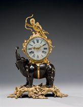 PENDULE A L'ELEPHANT D'EPOQUE LOUIS XV