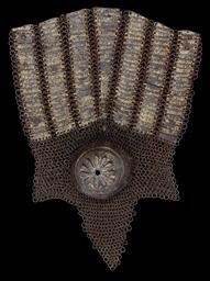 A TIMURID GOLD DAMASCENED STEE
