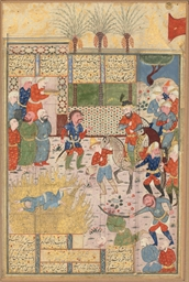 ARDASHIR KILLS HAFTVAD AND HIS