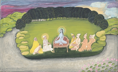 KRISHNA ENTHRONED