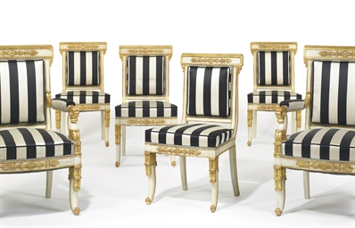 A SET OF SIX LOUIS PHILIPPE WH