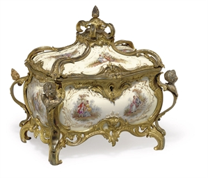 AN ORMOLU-MOUNTED BERLIN IVORY