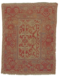 A LOTTO USHAK RUG