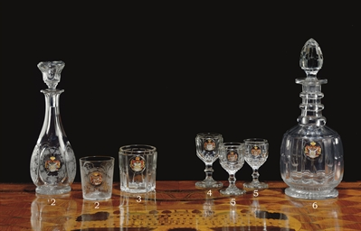 A RUSSIAN (IMPERIAL GLASS WORK
