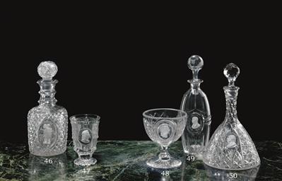 A JOHN FORD & CO. CUT-GLASS SU