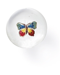 A BACCARAT BUTTERFLY WEIGHT