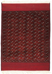 A PART-COTTON SARYK CARPET