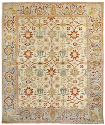 A LARGE ZIEGLER CARPET