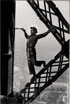 The Painter of the Eiffel Tower, Paris, 1953