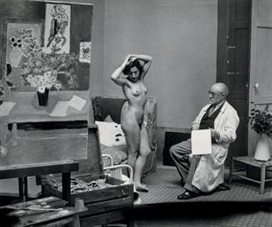 Matisse avec son Modèle, 1939