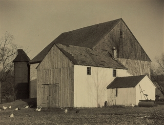 Bucks County Barn, 1918