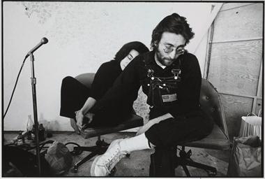 John and Yoko, c. 1970