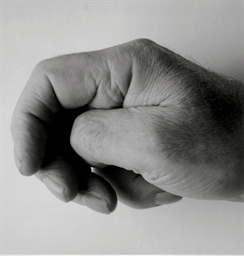 Self Portrait (Clenched Thumb