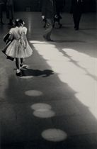 Young Girl, Penn Station, NYC, 1955