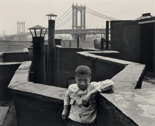 Boy on Roof, Lower East Side,