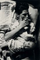 Billy with Baby, 1963, from Tulsa, 1971