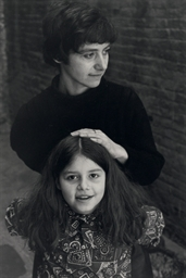 Diane and Amy Arbus, 1963