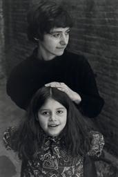 Diane and Amy Arbus, 1963