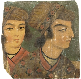 A GROUP OF QAJAR MINIATURE PAI