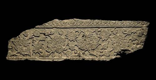 A TIMURID GREY SCHIST CENOTAPH