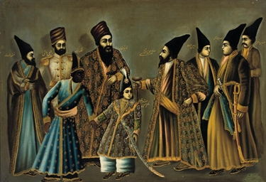 A QAJAR PORTRAIT OF NASIR AL-D
