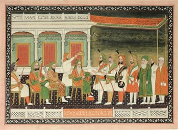 DURBAR OF RANJIT SINGH, DELHI