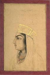 PORTRAIT OF A LADY, MUGHAL, CI